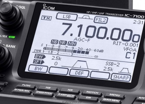 icom-ic-7100 front