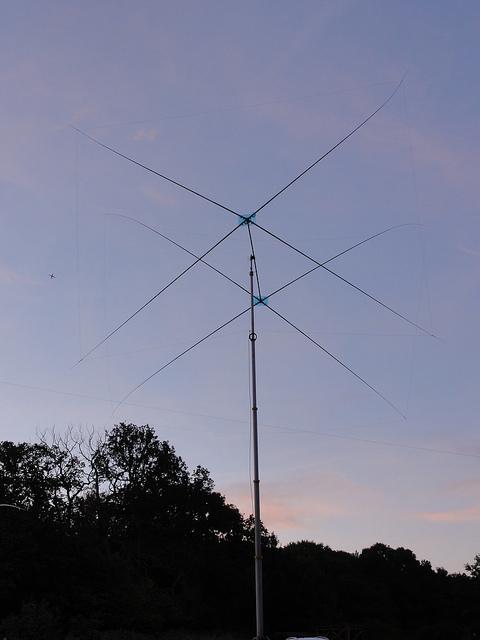 14 MHz 2e Homebrew Quad – M0TAZ