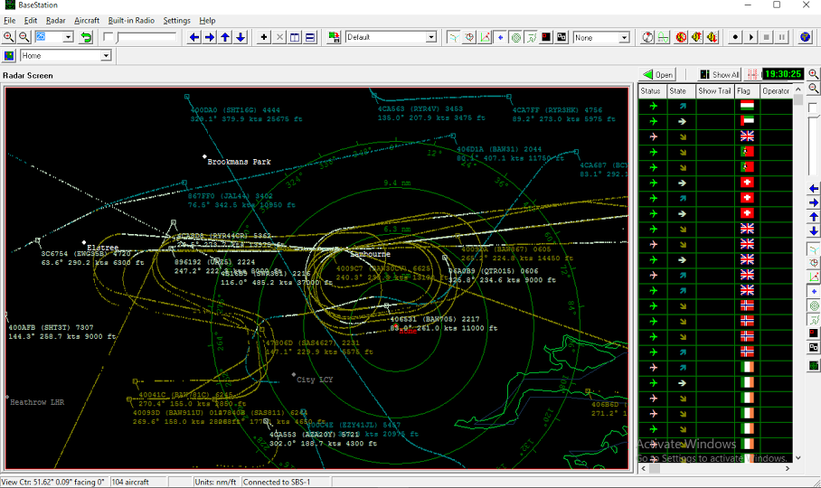 kinetic base station radar