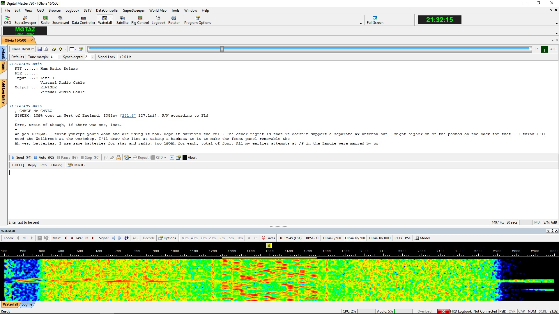 Using an SDR and VAC to Decode Data Modes – M0TAZ