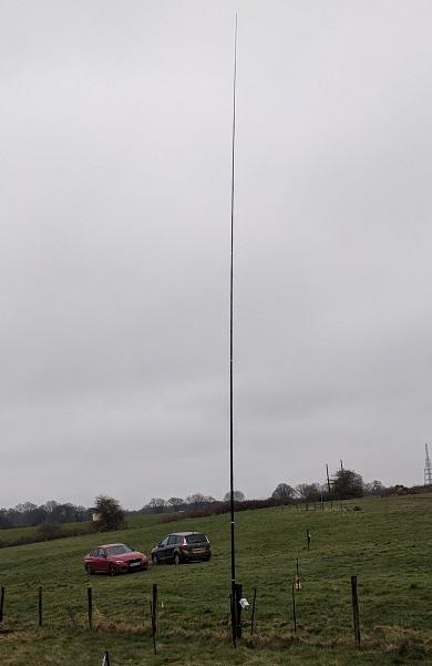 40m vertical – M0TAZ