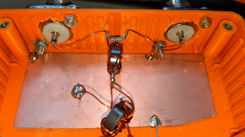 MF and HF RX Antenna Splitter – M0TAZ